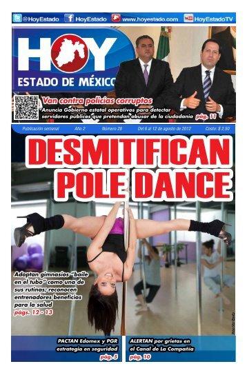 Van contra policías corruptos - HOY Estado de México