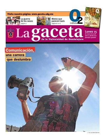 descargar edición completa - La gaceta - Universidad de Guadalajara