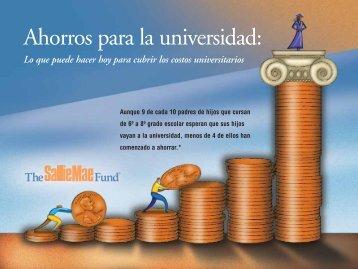 Ahorros para la universidad: - Parent Programs Office