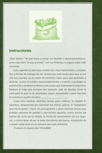 Agenda pequeño cerdo capitalista - Aguilar