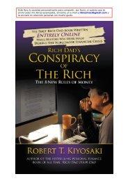 La Conspiración de los Ricos - Crisis, negocios y dinero