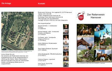 Folie 1 - Reiterverein Hannover eV