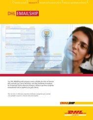 Descargue el folleto Informativo de DHL eMailShip