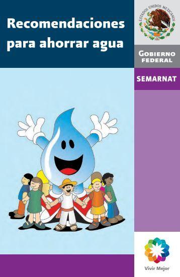 Recomendaciones para ahorrar agua - Centro de Geociencias ...