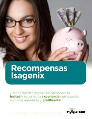 Recompensas Isagenix - IsaFYI – Mexico