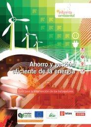 Ahorro y gestión eficiente de la energía. Guía para la intervención ...