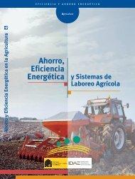 Ahorro, Eficiencia Energética y Sistemas de Laboreo Agrícola - IDAE