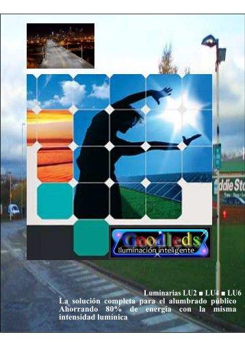 Luminarias LU2 LU4 LU6 La solución completa para el alumbrado ...