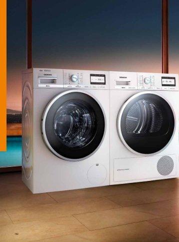 Catálogo General Lavadoras y Secadoras - Siemens