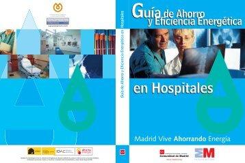 Guía de Ahorro y Eficiencia Energética en Hospitales