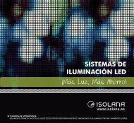 SISTEMAS DE ILUMINACIÓN LED ¡Más Luz, Más Ahorro! - Isolana