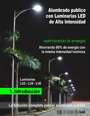Iluminación Exterior con Lámparas LED de Alta Intensidad