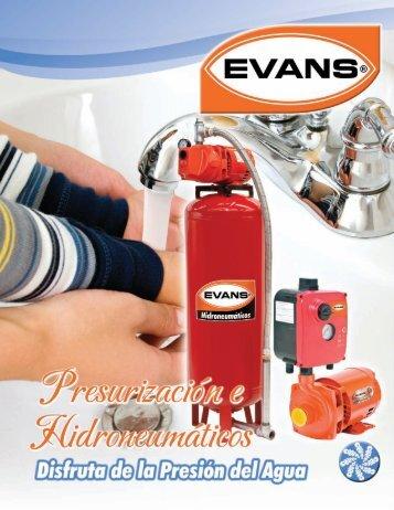 Disfruta la Presión del Agua - Evans