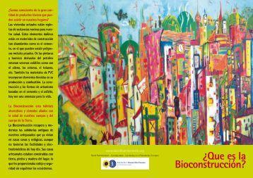 ¿Que es la Bioconstrucción? - David Hammerstein