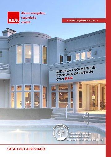 21/12/2012 Catálogo BEG: Detectores y Ahorro Enérgetico - Gama ...