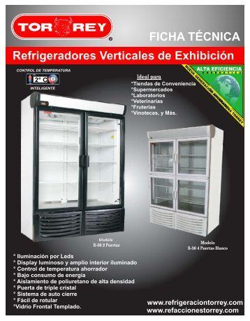 Descargar Ficha Técnica - Refrigeración Torrey