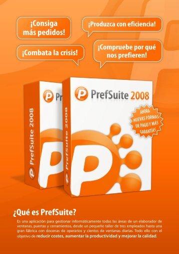PrefSuite 2008 - Soluciones para combatir la crisis