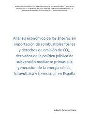 Análisis económico de los ahorros en importación de combustibles ...