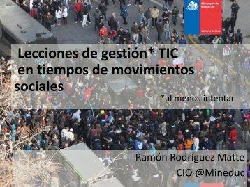 Presentación de Ramón Rodríguez - cetiuc