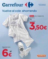 Vuelve al cole ahorrando - Carrefour