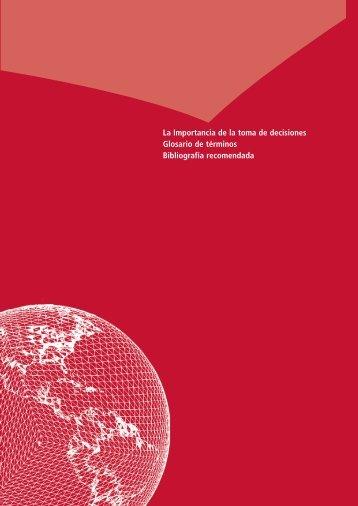 Importancia de la toma de decisiones - Universidad de Murcia