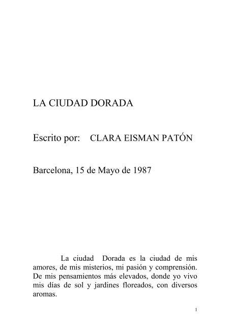 Dorada Clara Ciudad Paton La Eisman lwiuOPZkXT