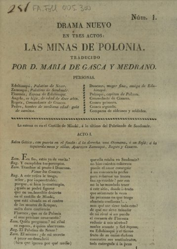 LAS MINAS DE POLONIA.