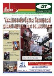 Director de Serviu visitó departamentos dañados - Diario 21