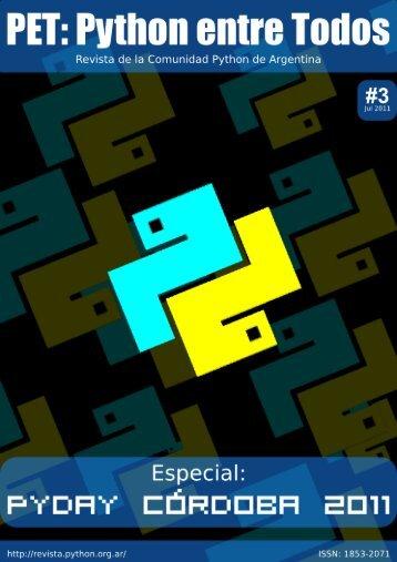 Booklet A4/A5 - PET: Python Entre Todos - Python Argentina