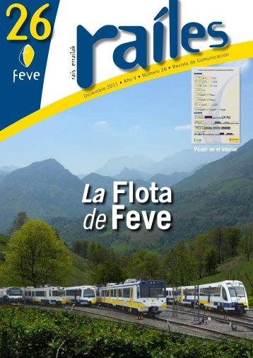 Revista Raíles Nº 26 - Feve