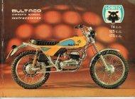 Bultaco Lobito 74-125-175 MK7 Mod 126-127-128 1974 ... - Lamaneta