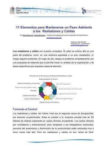 11 Elementos para Mantenerse un Paso ... - Seguros Caracas