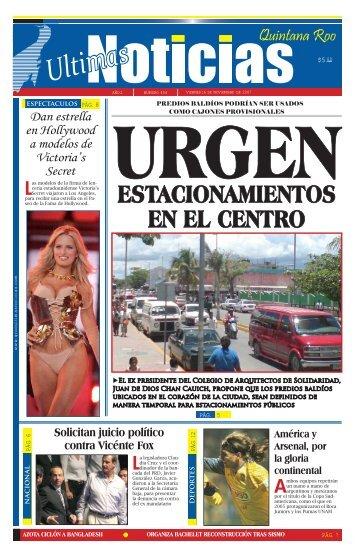 16 - Ultimas Noticias Quintana Roo