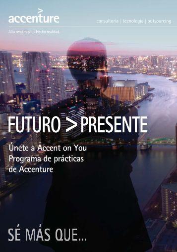 Únete a Accent on You Programa de prácticas de ... - Foro de Empleo