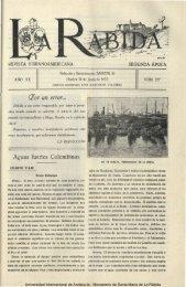 Aguas fuertes Colombinas - DSpace en la UNIA - Universidad ...