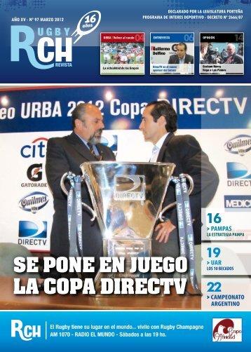 Link a la Revista RCH de Marzo 2012 - Rugby Champagne Web