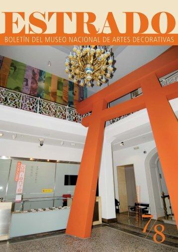 DESCARGUE ESTRADO (en formato pdf) - Museo Nacional de ...