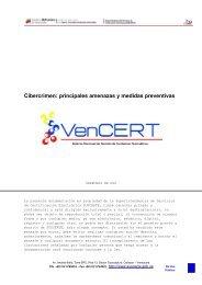 Cibercrimen: principales amenazas y medidas preventivas - Vencert