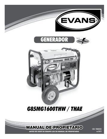 g85mg1600thwae - Evans