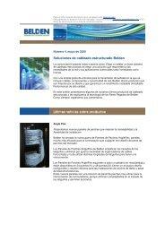 Soluciones de cableado estructurado Belden - Belden EMEA