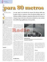 Comet HFB-80 - Radio-Noticias, revista digital de radioafición
