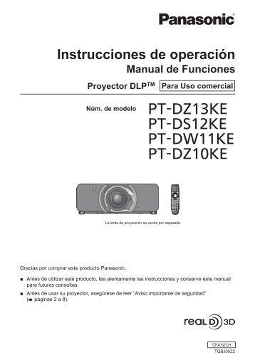 Aviso importante de seguridad - Panasonic
