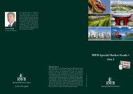 RWB Special Market Fonds • Asia I - RWB AG