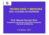 D. Manuel Serrano - Real Academia de Ingeniería