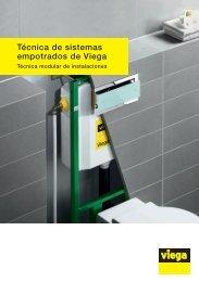 cisternas empotradas - Viega