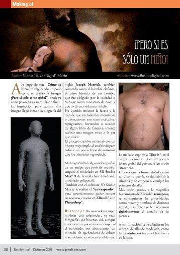 Magazine Render Out! Numero 2 - Diciembre ... - IlusionDIgital.com