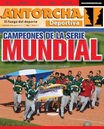 CAMPEONES DE LA SERIE - Antorcha Deportiva