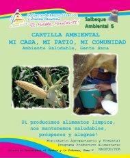 Alimentos - Ministerio Agropecuario y Forestal, Magfor