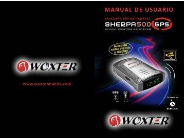 MANUAL DE USUARIO - Woxter Mobile