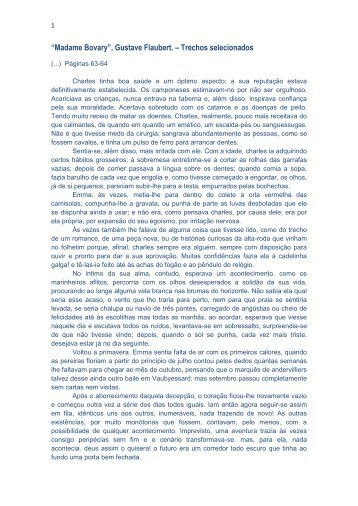 Madame Bovary Pdf Portugues